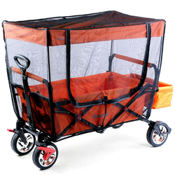 FUXTEC Sonnenschutz / Insektenschutz für Bollerwagen CT700 (CT700-FG)