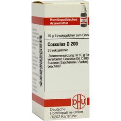 COCCULUS D 200 Globuli