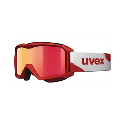 Uvex Skibrille Skibrille flizz LM red mat dl/mir red