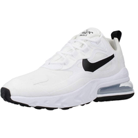 white/metallic silver/black 40