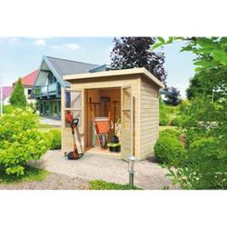 Karibu Gartenhaus Folldal 14mm, mit Fußboden