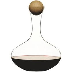 Sagaform Weinkaraffe mit Eichenkorken 2 L