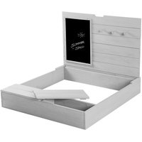 Roba Sandkasten mit Deckel, Tafel und Haken