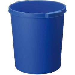 Papierkorb rund 15l blau