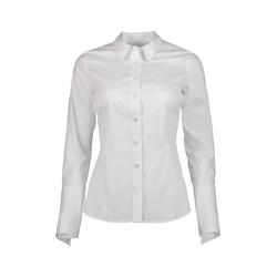 Lavard Weißes Damenhemd 84814  48