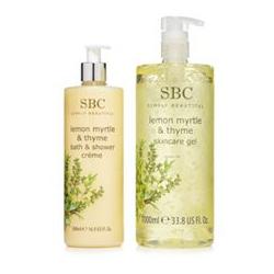 SBC Zitronenmyrte & Thymian Skincare Gel Dusch- & Badegel