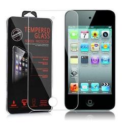 Cadorabo Handyhülle Panzer Folie Tempered für Apple iPod Touch 5, Schutzfolie in 9H Härte mit 3D Touch Kompatibilität
