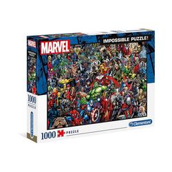 Clementoni® Puzzle Puzzle 1.000 Teile Impossible Puzzle - Marvel, Puzzleteile