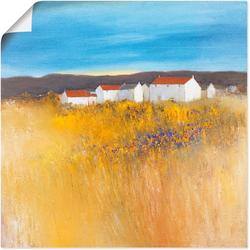 Artland Wandbild Sommerfeld, Felder (1 Stück) 30 cm x 30 cm