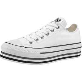 Converse Chuck Taylor All Star Platform Low Top white/black/thunder 38