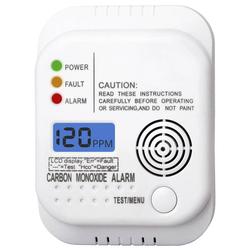 Kohlenmonoxid (CO) Warnmelder mit LCD Display - 2er Set