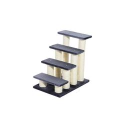 PawHut Kratzbaum Katzentreppe mit 4 Stufen