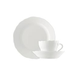 Hutschenreuther Kaffeeservice Maria Theresia, (Set, 18 tlg.), Mikrowellengeeignet weiß Geschirr-Sets Geschirr, Porzellan Tischaccessoires Haushaltswaren