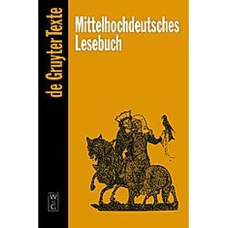 Mittelhochdeutsches Lesebuch - Buch