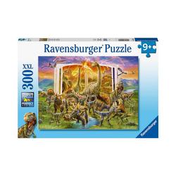 Ravensburger Puzzle XXL-Puzzle Lexikon aus der Urzeit, 300 Teile, Puzzleteile