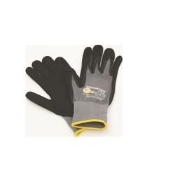 Hufa Fliesenleger Nylon Strick Handschuhe grau L