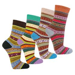 Socks 4 Fun Norwegersocken Time to hygge (3-Paar) 35-38