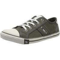 MUSTANG Shoes Sneaker mit Logoschriftzügen grau 39