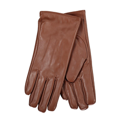 Lavard Braune Handschuhe aus Leder 84050  S