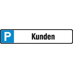 Parkplatzschild Parkplatz (B x H) 520mm x 110mm 1St.