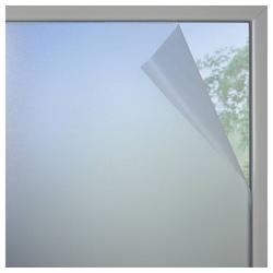 Sonnenschutz Fensterfolie Milchglas-optik weiß-matt 90 x 200, GARDINIA