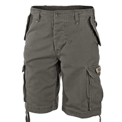 Mil-Tec Paratrooper Shorts Prewash oliv, Größe M