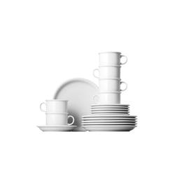Thomas Porzellan Geschirr-Set Teeset 18-tlg. - TREND Weiß