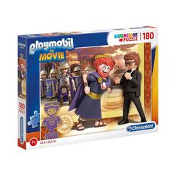 Clementoni® Puzzle Puzzle 180 Teile Supercolor Playmobil the Movie, Puzzleteile