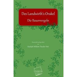 Des Landwirths Orakel als Buch von