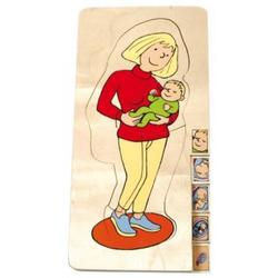"""Lagenpuzzle """"Mutter mit Baby"""""""