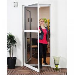 Basis Fliegengitter Tür als Alu-Bausatz 100 x 210 cm