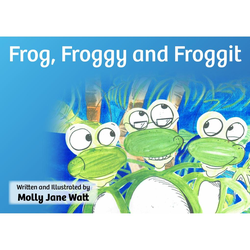 Frog Froggy and Froggit als Hörbuch Download von