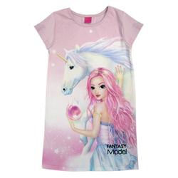 TOPModel Nachthemd Fantasy Top Model Nachthemd Einhorn rosa 140