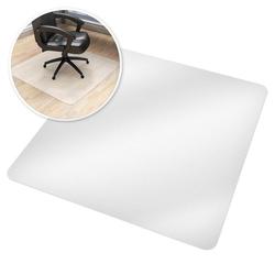 Fußmatte Bodenschutzmatte für Bürostühle, tectake, Höhe 0.18 mm 120 cm x 120 cm x 0.18 mm