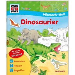 WAS IST WAS Jun. Mitmachheft Dinosauri