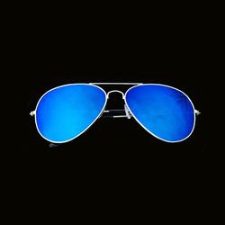Pilotenbrille Sonnenbrille Herren Damen Flieger blue