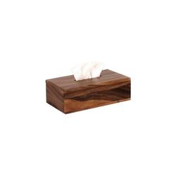 houseproud Aufbewahrungsbox Timber Craft Kosmetiktücherbox, mit herausziehbarem Boden