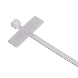 Kabelbinder 98x2,5 mit Beschriftungsfeld 25 x 8 | 100 Stck./VP