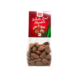 "Rosengarten Bio-Mandeln ""Schoko-Zimt"", 100 g"