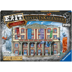 Ravensburger Adventskalender Exit pro, Made in Europe