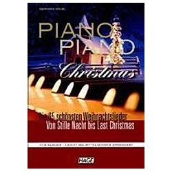 Piano Piano Christmas. Gerhard Kölbl  - Buch