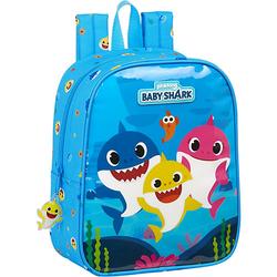 Kinderrucksack Baby Shark blau