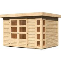 Woodfeeling Kerko 4 2,98 x 2,13 m natur