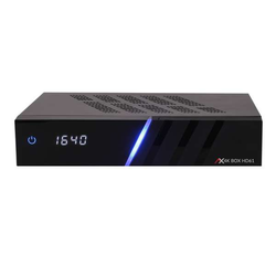 AX 4K-BOX HD61 2x DVB-S2X 4K UHD 2160p PVR H.265 HEVC E2 Linux Receiver 3TB