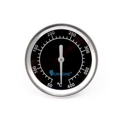 Lantelme Grillthermometer Grillthermometer Black 400, 2-tlg., 400 Grad, Einbauthermometer