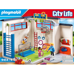 Playmobil® Konstruktions-Spielset Turnhalle (9454), City Life, (130 St), ; Made in Germany