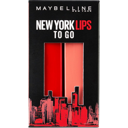 MAYBELLINE NEW YORK Lippenstift-Set Made for All, Nr. 373 Mauve for me und Nr. 385 Ruby for me