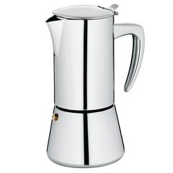 Espressokanne Latina Edelstahl silber glänzend 20,0cm 10,5cmØ 300,0ml