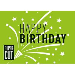 Super Cut Gutschein Trägerkarte Geburtstag