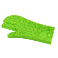 KOCHBLUME Handschuh LIMETTE aus Silikon Topflappen